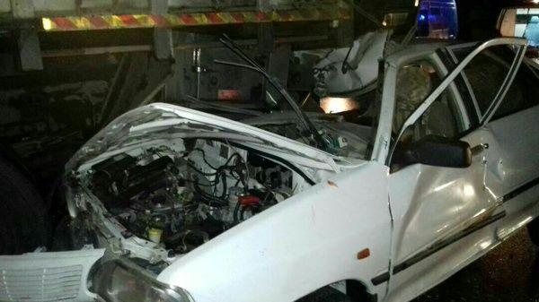ترکیدن لاستیک خودرو در محور کرمانشاه-روانسر 6 کشته و زخمی برجای گذاشت