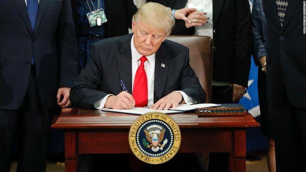 ترامپ لایحه جامع مهاجرت را تقدیم کنگره کرد