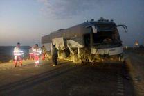 جزئیات انحراف اتوبوس زائران بازگشته از کربلا در محور اراک