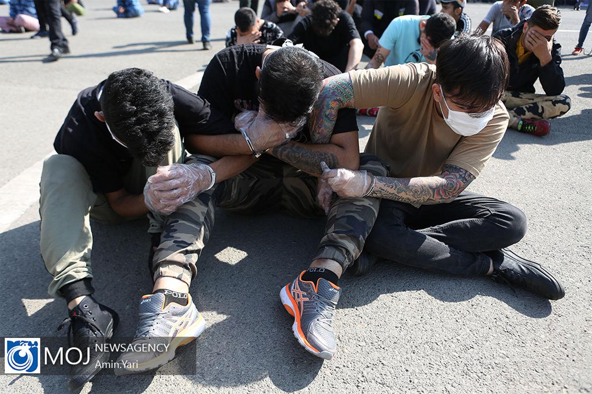 دستگیری 10 متهم تحت تعقیب قضائی در فلاورجان