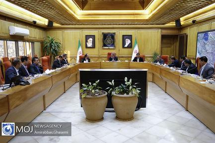 جلسه ایجاد تاسیسات منطقه ای تبدیل پسماند به مواد و انرژی