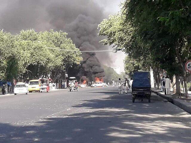 وقوع انفجار مرگبار نزدیک دانشگاه کابل
