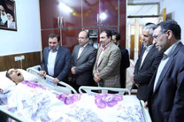 استاندار به دیدار شهید زنده لرستان رفت