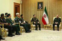 مسوولین کشورهای آسیایی عضو سیزم با وزیر دفاع دیدار کردند