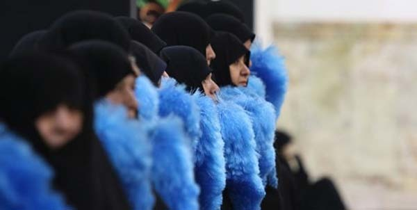 همکاری روازنه ۱۰۰۰خدام خواهر در حرم بانوی کرامت