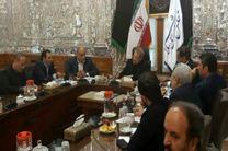 استانداران منطقه 4 کشور به دیدار رئیس مجلس شورای اسلامی رفتند