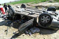 واژگونی سمند  در محور اصفهان- شهرکرد 2 کشته برجای گذاشت