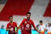 نتیجه بازی پرسپولیس و فولاد/ سرود قهرمانی در ورزشگاه آزادی