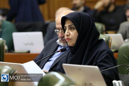 یکصد و هفتاد و نهمین جلسه شورای شهر تهران /  الهام فخاری