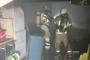 جزئیات آتش سوزی ساختمان ۴ طبقه در میدان ابوذر
