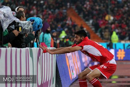 دیدار تیم های فوتبال پرسپولیس و تراکتورسازی تبریز/شایان مصلح