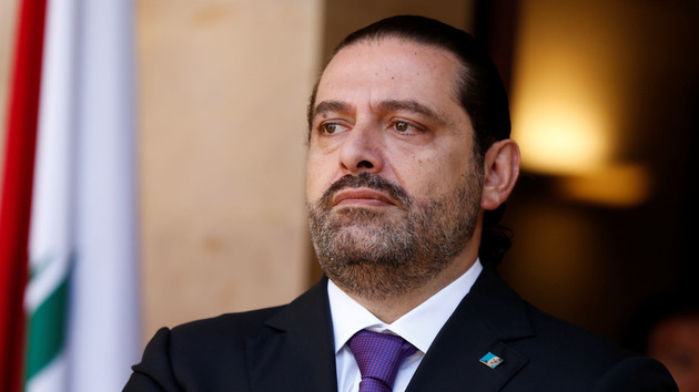 سعد الحریری وارد جایگاه مراسم سالروز استقلال لبنان شد