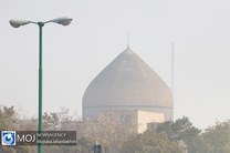 کیفیت هوای اصفهان برای گروه های حساس ناسالم است