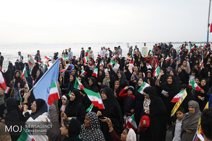 جشن چهلمین سال انقلاب در بندرعباس