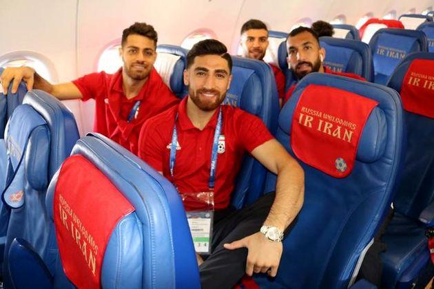 تیم ملی فوتبال ایران مسکو را به مقصد سارانسک ترک کرد