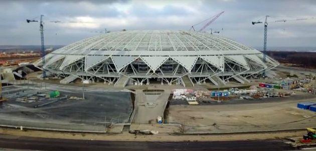 بازگشایی استادیومهای جام جهانی 2018 روسیه