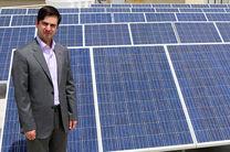 نیروگاه خورشیدی 20 کیلوواتی در آبفای قم به بهرهبرداری رسید