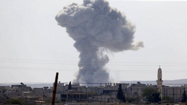نوار غزه بمباران شد
