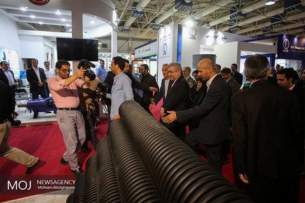 افتتاح چهاردهمین نمایشگاه صنعت آب و تاسیسات فاضلاب