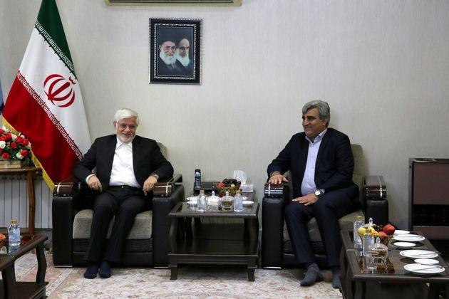دیدار استاندار گیلان با رییس کمیسیون آموزش و تحقیقات مجلس شورای اسلامی