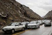 وضعیت ترافیکی جادههای کشور در 26 خرداد اعلام شد