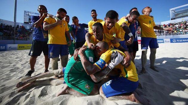 برزیل قهرمان جام جهانی فوتبال ساحلی شد