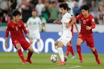 نتیجه بازی عراق و ویتنام/ برتری عراق مقابل ویتنام