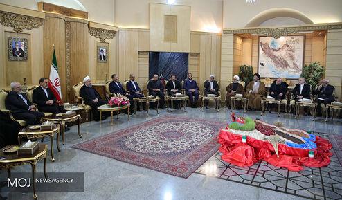 بدرقه رسمی رییس جمهور به کشور روسیه