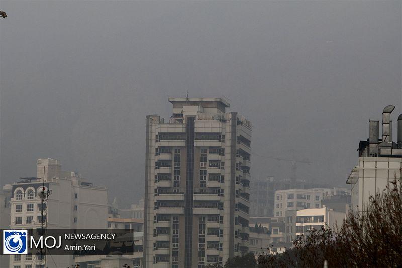 کیفیت هوای تهران ۱۷ دی ۹۸ ناسالم است/ شاخص کیفیت هوا به ۱۰۳ رسید