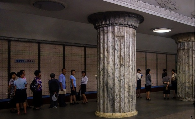متروی پیونگ یانگ بهترین پناهگاه