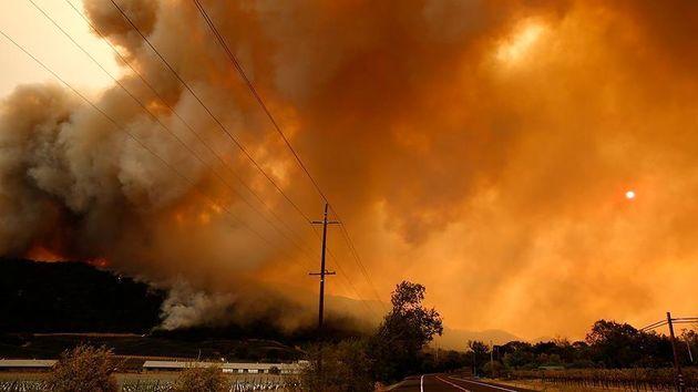 آتشسوزیهای طبیعی در ایالت یوتا ادامه دارد