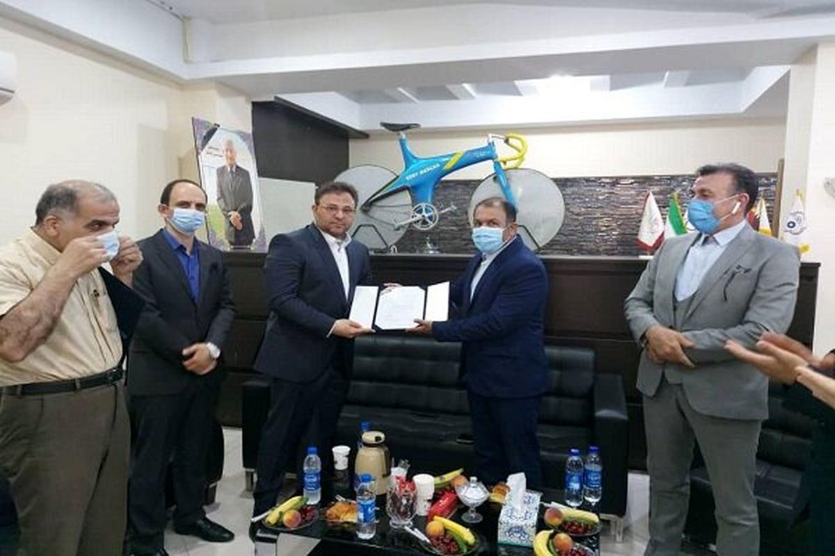 مراسم معارفه رئیس فدراسیون دوچرخه سواری برگزار شد