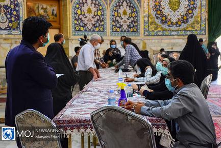 مشارکت گستره مردم اصفهان در انتخابات ۱۴۰۰ (۲)