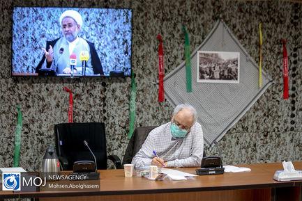 نشست خبری رییس سازمان نشر ارزش های مشارکت روحانیت