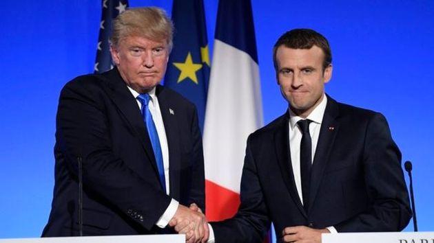مراسم روز ملی فرانسه با حضور ترامپ برگزار می شود