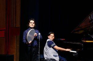 اجرای برنامه ۱۰۰ هنرجوی پیانو در فرهنگسرای نیاوران
