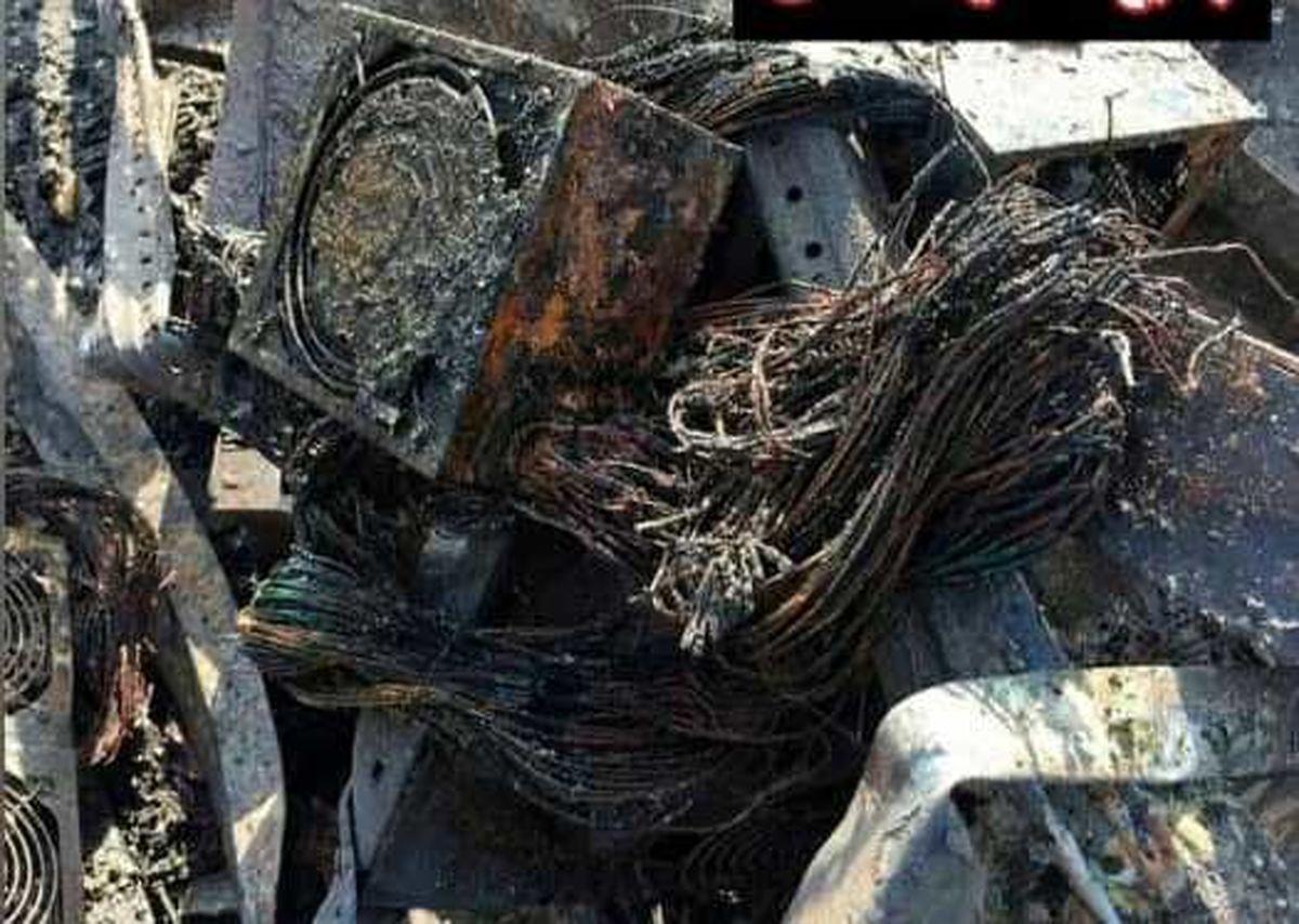 خسارت میلیاردی یک منزل مسکونی برای استخراج ارز دیجیتال در کاشان