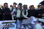 نمایشگاه کشفیات نخستین طرح ظفر پلیس تهران