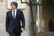 پوجدمون لغو خودمختاری کاتالونیا را کودتا خواند