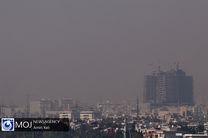 هوای پایتخت برای گروههای حساس جامعه ناسالم شد