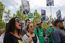 تظاهرات مردم پاریس در اعتراض به سفر نتانیاهو به فرانسه