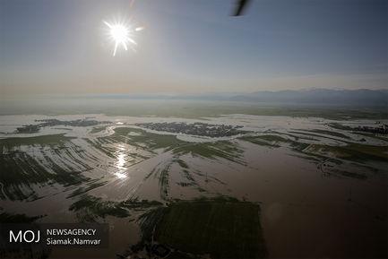 مناطق سیل زده استان گلستان