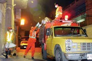 کمپین شهر سالم در سوسنگرد / اقدام جالب شهروندان سوسنگردی در شب عید