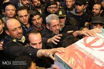 مراسم وداع با پیکر شهدای حادثه تروریستی زاهدان در اصفهان برگزار شد