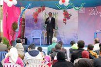 افتتاح نمایشگاه آرامش زندگی در منطقه نیروگاه توسط معاون امور زائرین استاندار قم