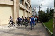 همایش دوچرخه سواری دانش آموزی و دانشجویی سما واحد رشت برگزار شد