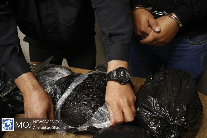 دستگیری ۱۷۰ نفر از سرشبکه های اصلی قاچاق مواد مخدر توسط پلیس
