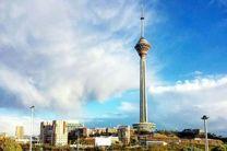 کیفیت هوای تهران در 12 خرداد سالم است