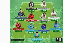 گرانترین تیم فوتبال تاریخ