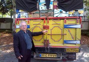 توقیف کامیونت حامل ذغال قاچاق در ساری